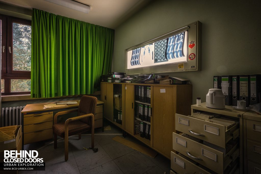 Psychiatrie V Germany - X-ray records room