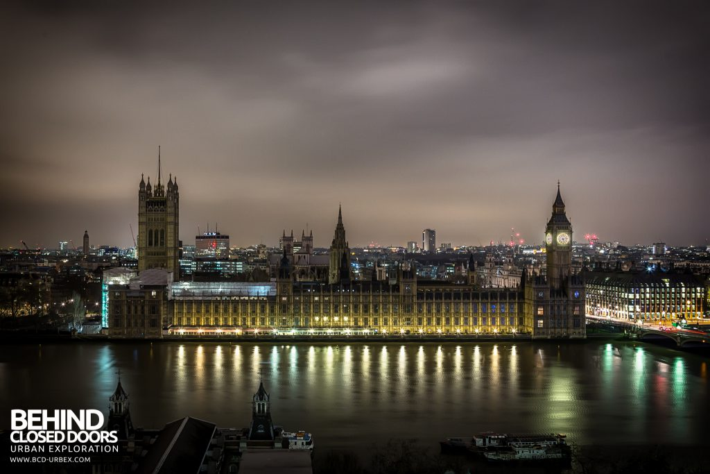 London Rooftops - Palace of Westminster
