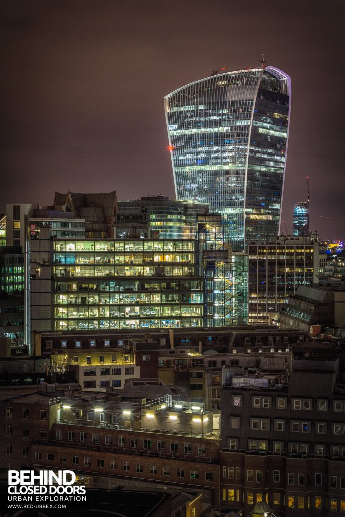 London Rooftops - Tall view of Walkie Talkie