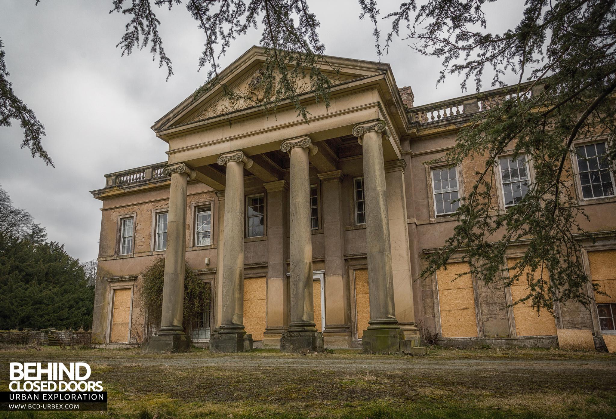 Abandoned Brogyntyn Hall Shropshire Uk 187 Urbex Behind