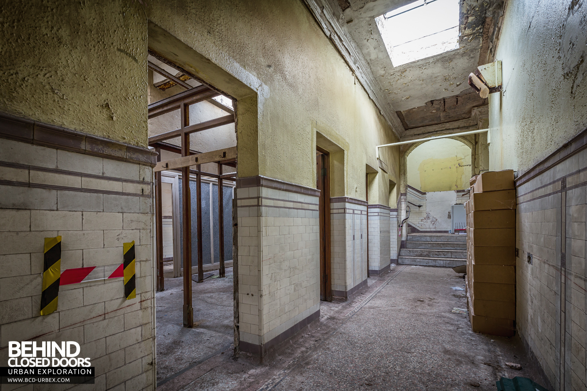 Buxton Crescent Hotel And Spa Baths Uk 187 Urbex Behind