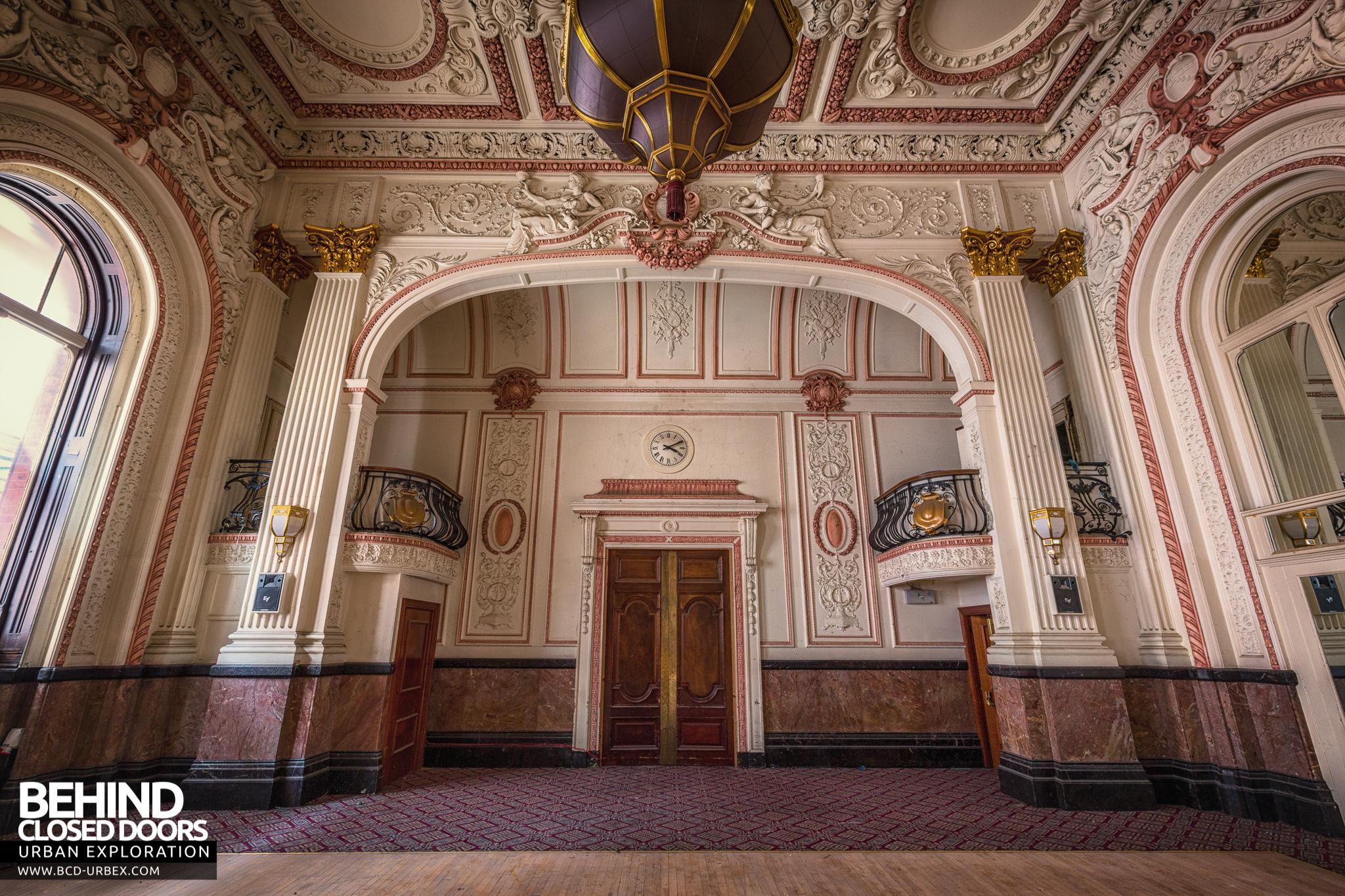 The Grand Hotel Birmingham Uk 187 Urbex Behind Closed