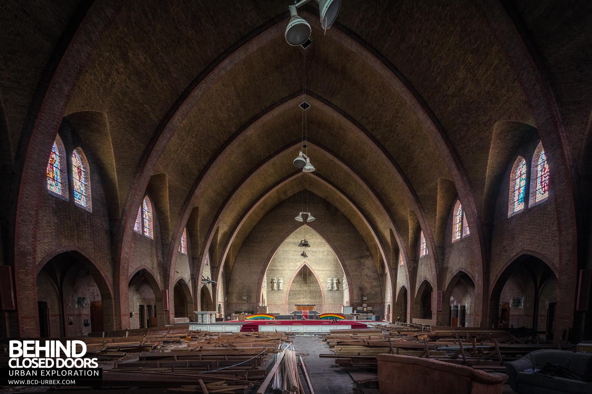 Abandoned Rainbow Church Netherlands 187 Urbex Behind