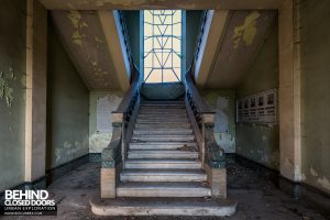 St Joseph's Orphanage Italy - Stairs in hall