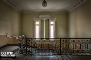 Villa Margherita, Italy - Top of stairs