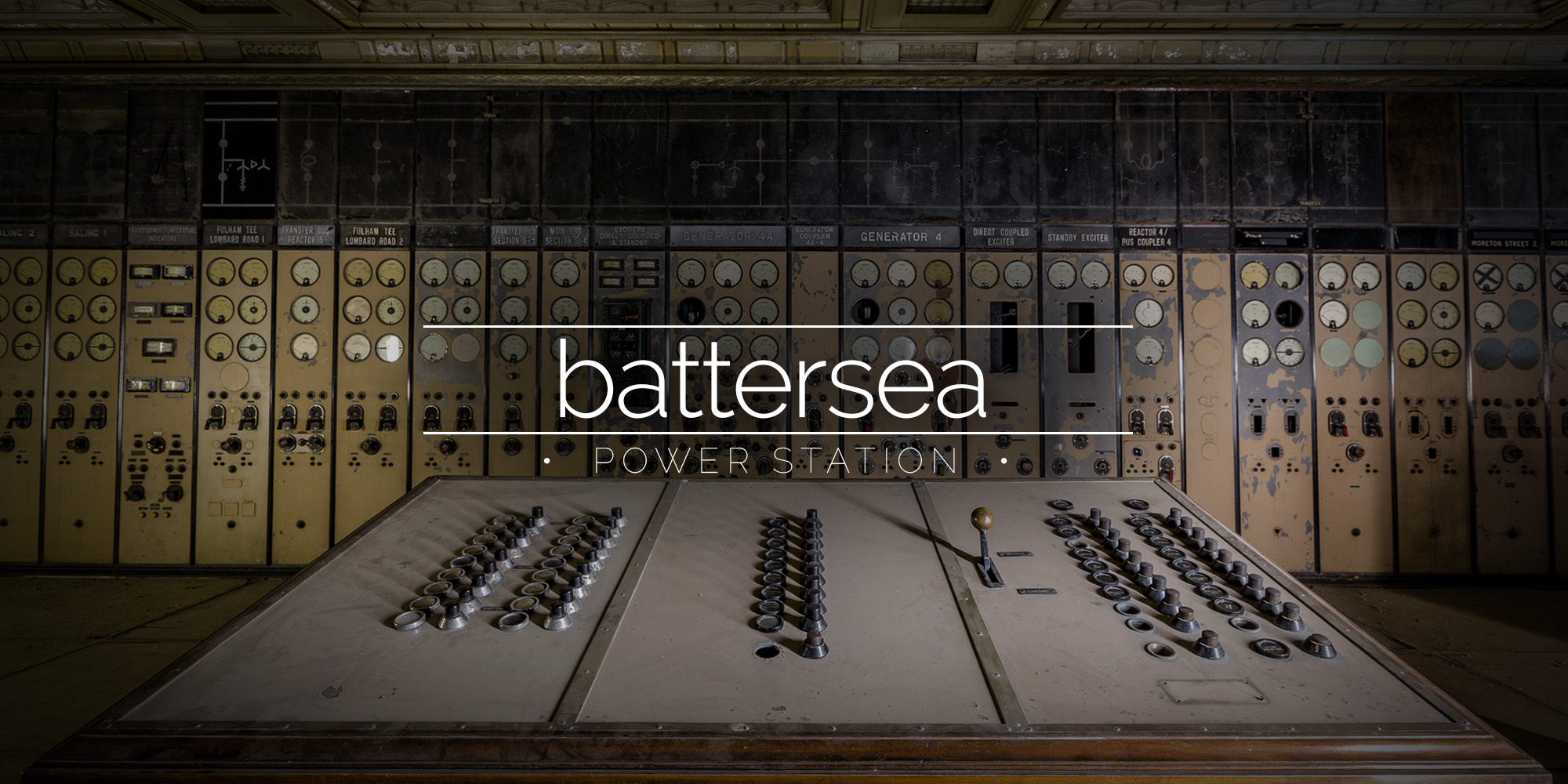 Battersea Power Station, London UK