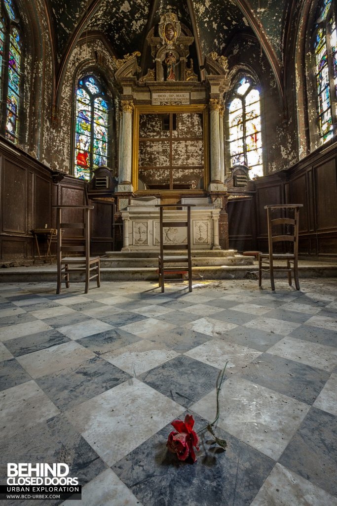 Chapelle De La Rose - The rose