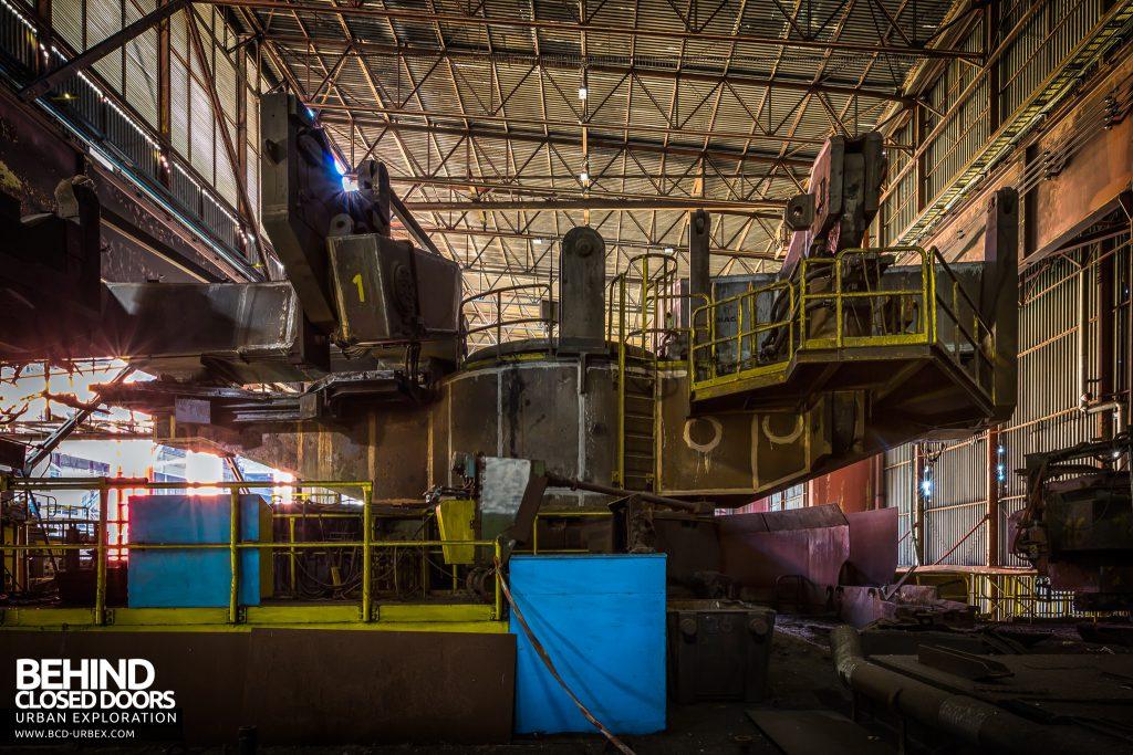 CSGD Steel Works, Belgium - Tipping platform