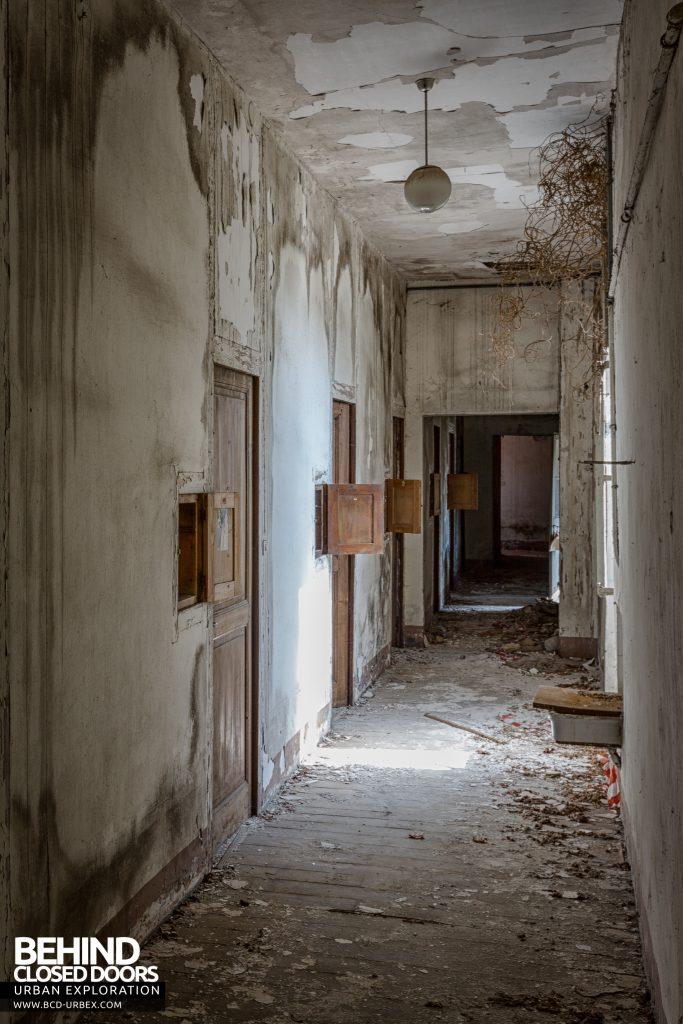 Monastero MG, Italy - Decaying corridor