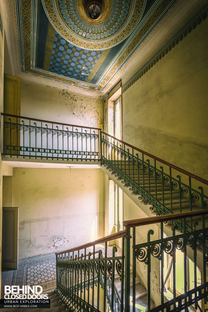 Paragon Hotel, Italy - Staircase