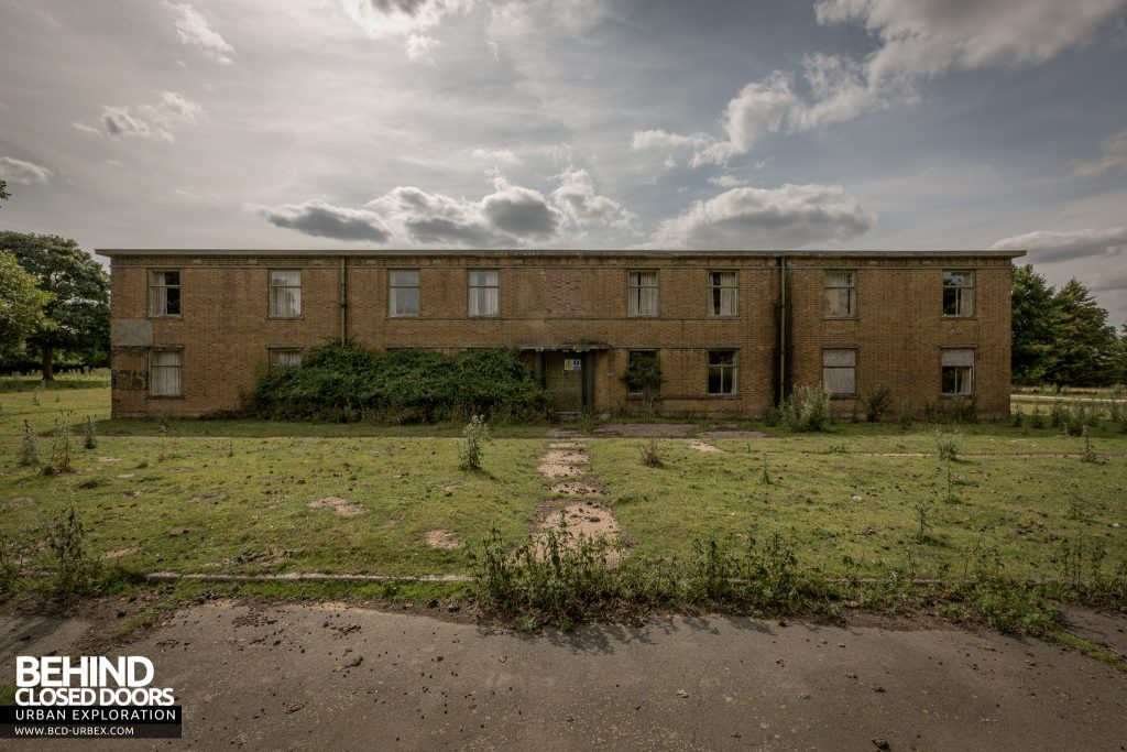 RAF West Raynham - Accommodation Block External
