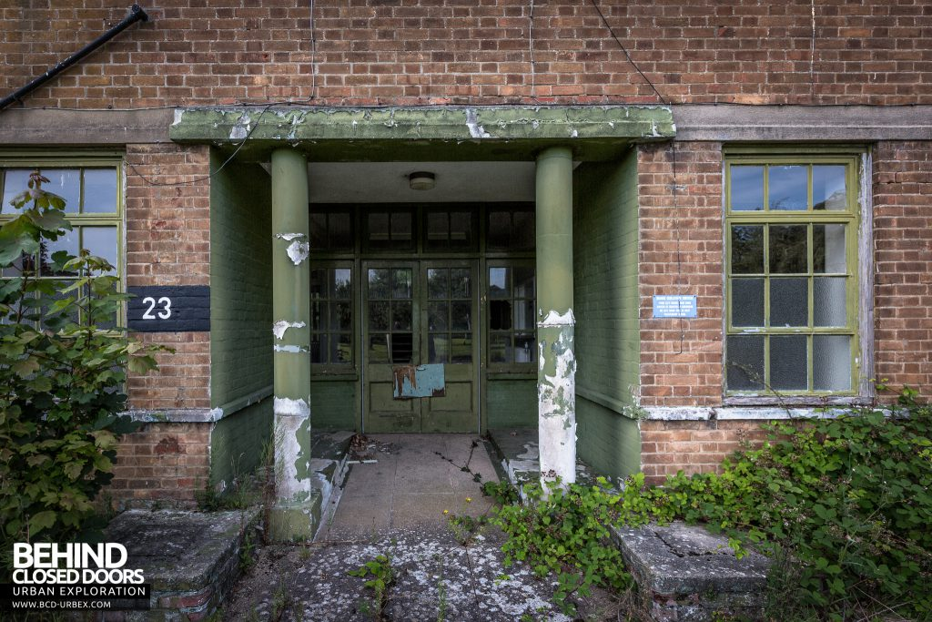 RAF West Raynham - Medical block entrance