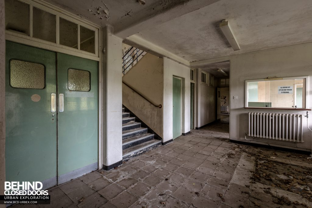 RAF West Raynham - Medical block entrance lobby
