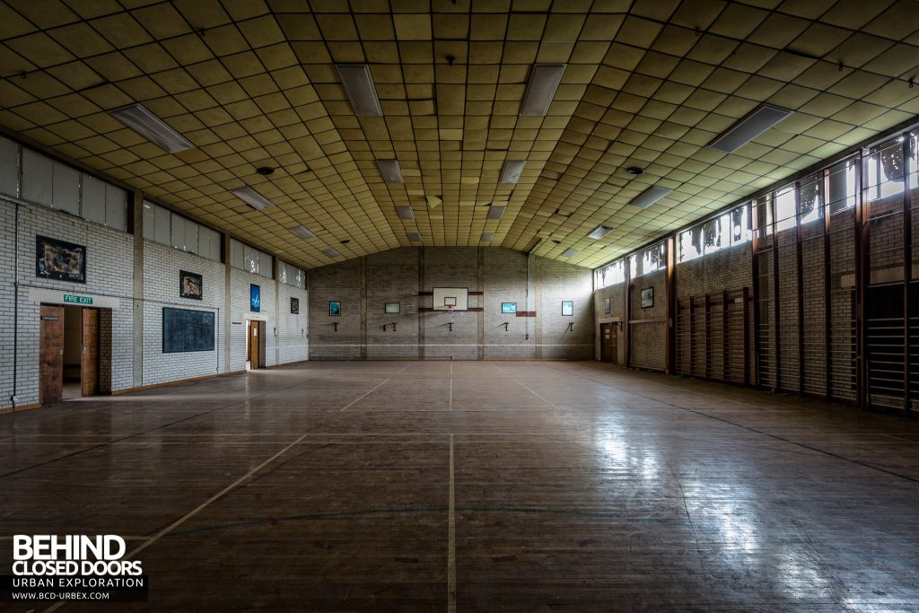 RAF West Raynham - The sports hall is well preserved