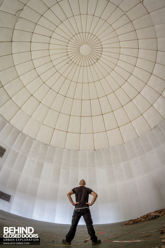 RAF West Raynham - Inside the training dome
