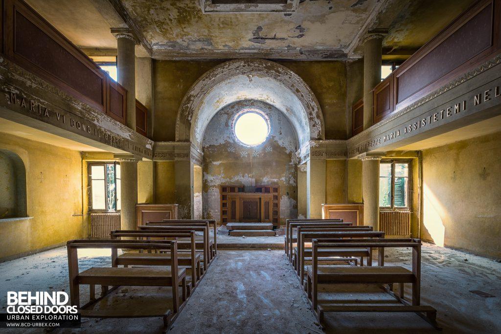 Red Cross Hospital, Italy -The chapel