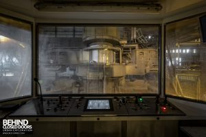 S.M. Steel Works, Belgium - Small control room