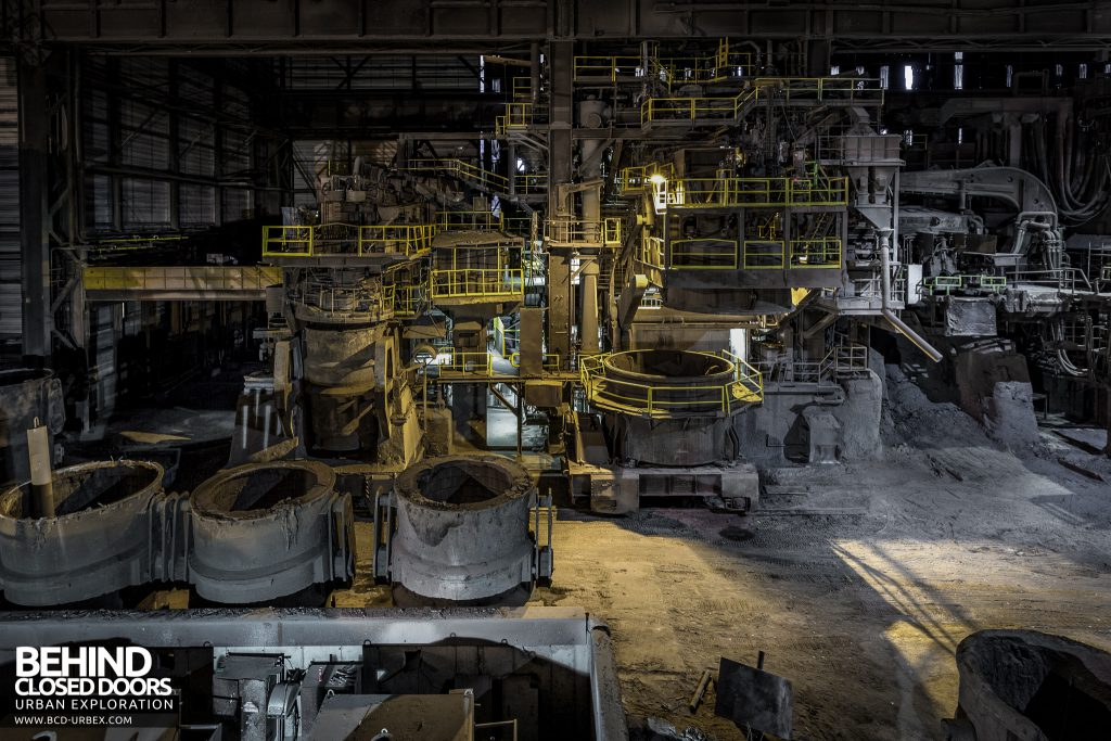 S.M. Steel Works, Belgium - An industrial mountain