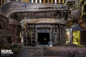 S.M. Steel Works, Belgium - Electric Arc furnace