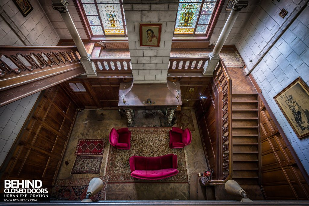 Town Mansion, Belgium - From from top of stairs