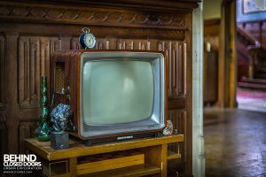 Town Mansion - Old TV