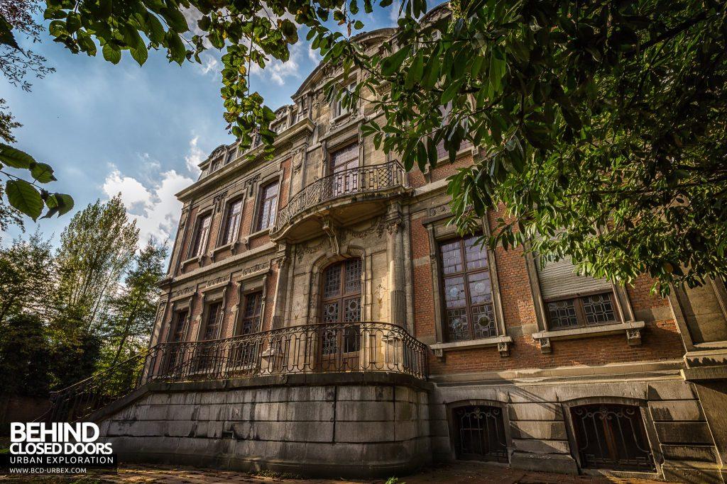 Town Mansion, Belgium - Exterior