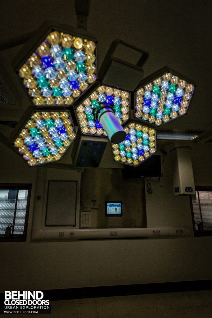 Alder Hey - Lights in theatre