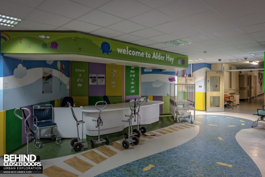 Alder Hey Children's Hospital, Liverpool - Reception