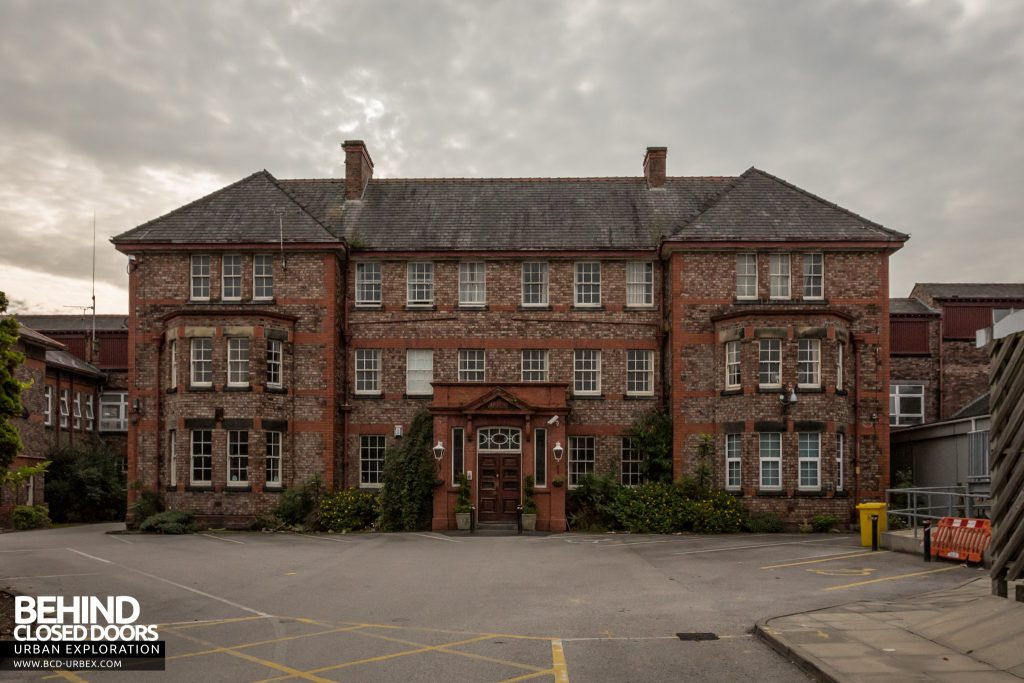 The original Alder Hey mansion was incorporated into the hospital workhouse