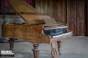 Schloss V, Germany - Grand piano