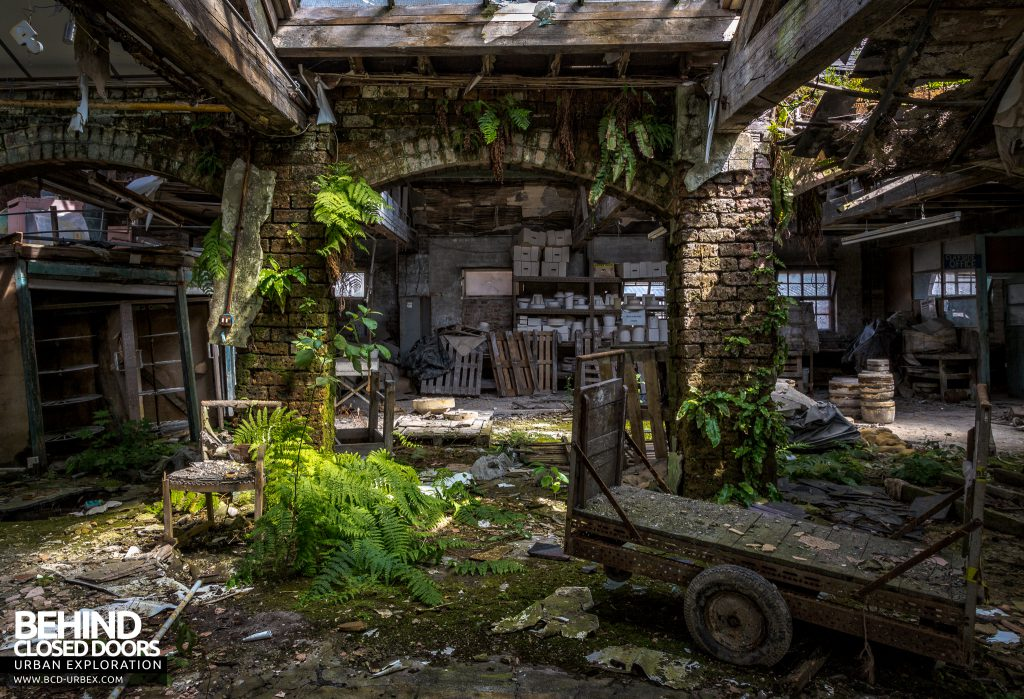 T. G. Greens Pottery - Nature reclaiming the factory