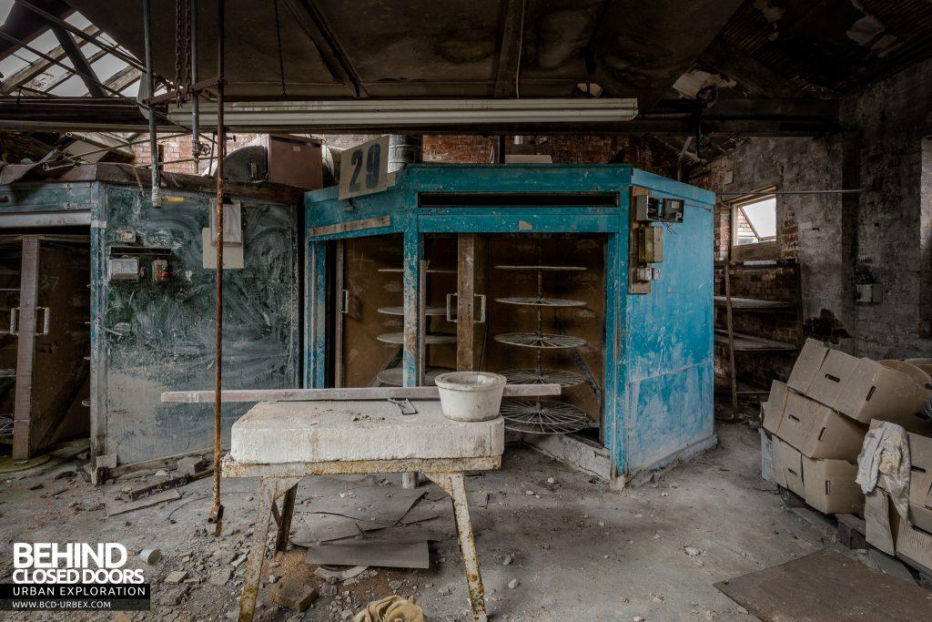 T. G. Greens Pottery - Leftover equipment