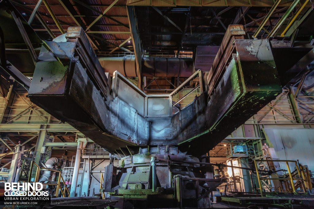 Thamesteel Sheerness - Huge machine