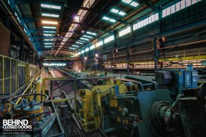 Thamesteel Sheerness - Machinery