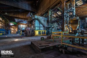 Thamesteel Sheerness - Work areas