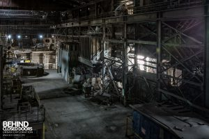 Thamesteel Sheerness - Electric Arc furnace work space