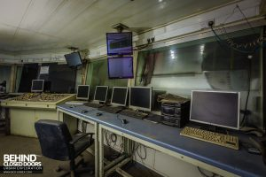 Thamesteel Sheerness - Electric Arc furnace control room
