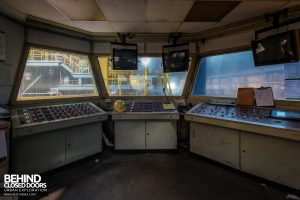 Thamesteel Sheerness - Inside control room