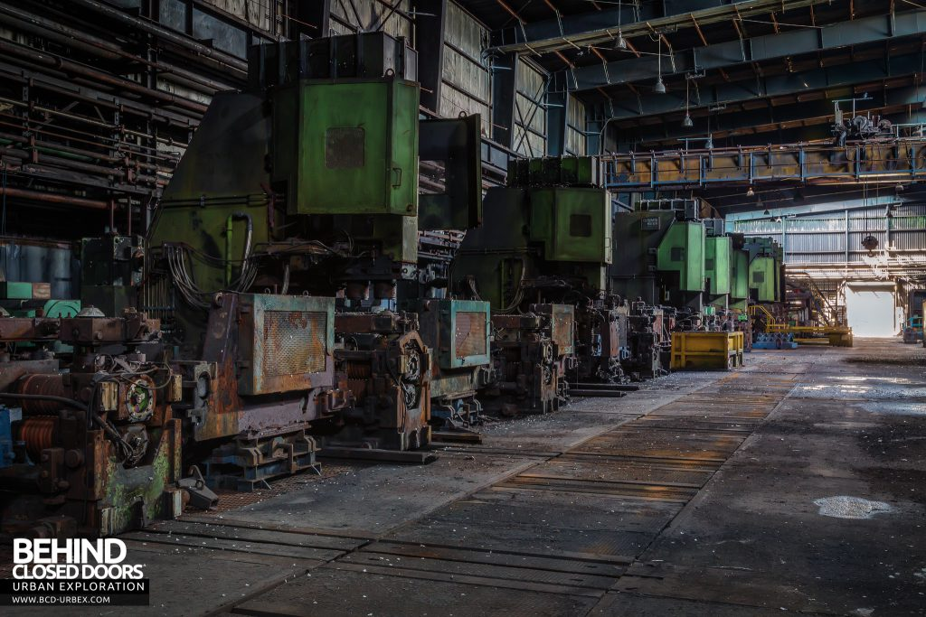 Thamesteel Sheerness - Part of the 18 Stand Rolling Mill