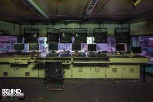 Thamesteel Sheerness - Control room