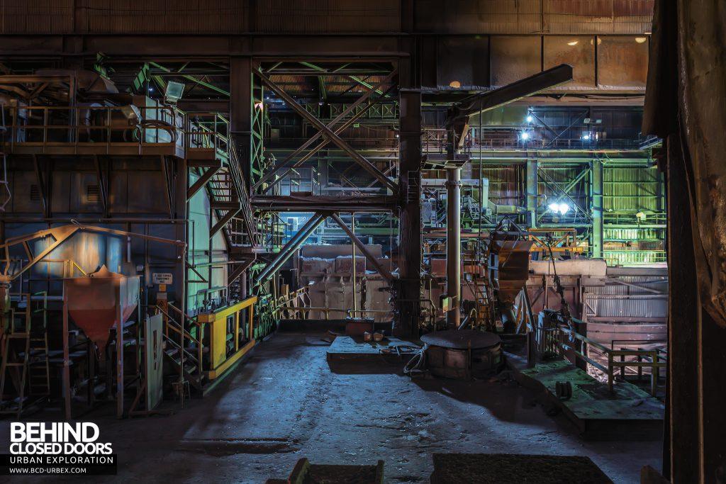 Thamesteel Sheerness - Huge industrial platforms