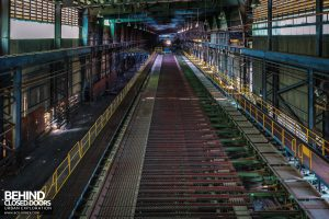 Thamesteel Sheerness - Cooling conveyor