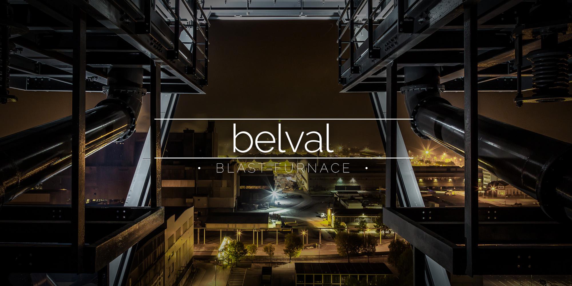 Belval Luxembourg Blast Furnace Night Climb