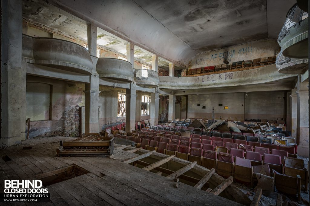 Bulgaria Theatre - View from the stage