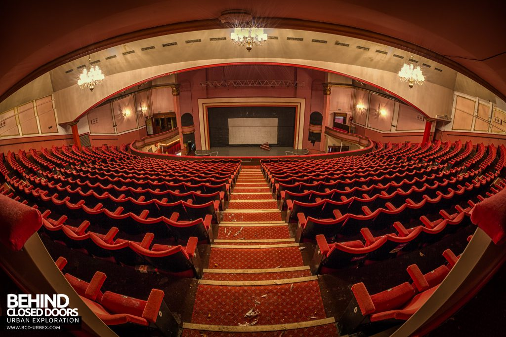 Futurist Theatre - View from the back