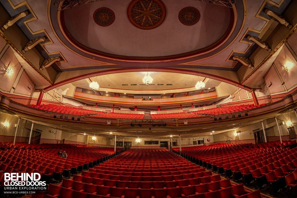 Futurist Theatre - View from the stage