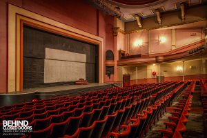 Futurist Theatre - Stage and seats