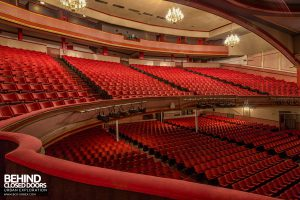 Futurist Theatre - Three levels of seats