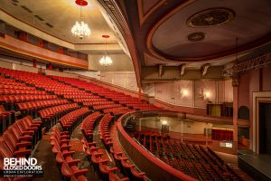 Futurist Theatre - View across circle level