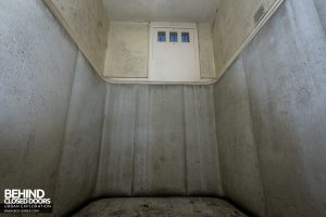 Haslar Padded Cell - Back of the cell